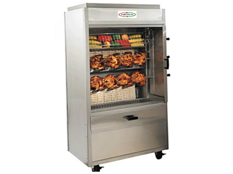 NRCG-E15 RORISSERIE CHICKEN GRILL - ELECTRIC