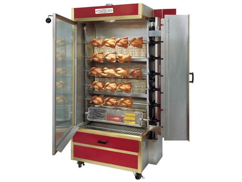 NRCG-E35 RORISSERIE CHICKEN GRILL - ELECTRIC