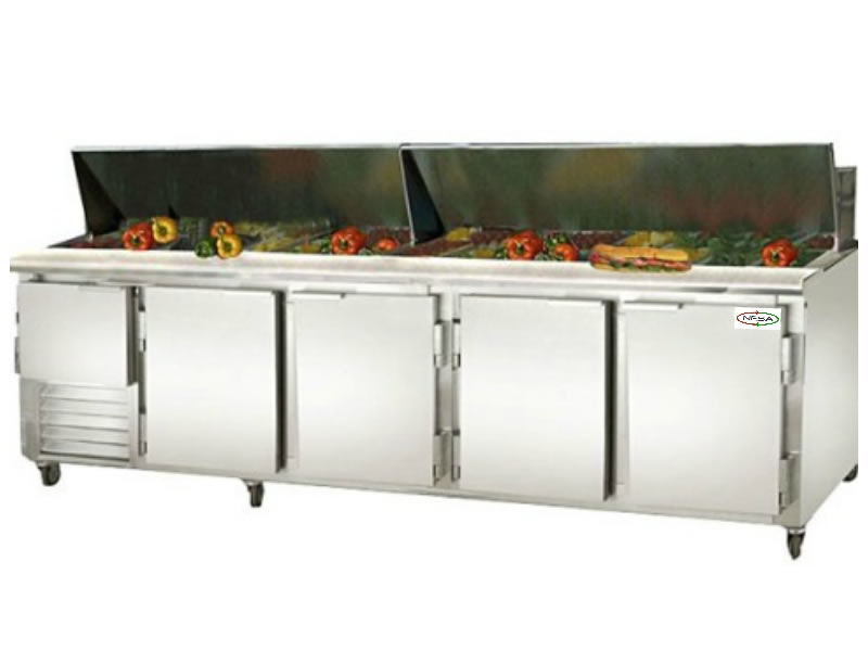 NRSPT-1 REFRIGERATED SANDWICH / SALAD PREP TABLE